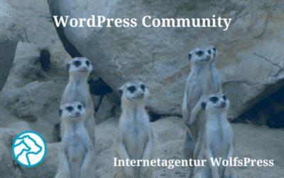 WordPress Community, WordCamp und WordPress Meetup – meine Einblicke