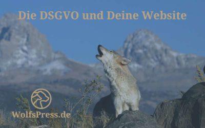 DSGVO und Deine Website