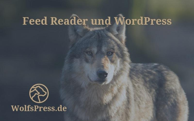 Feed Reader und WordPress Beitrag WolfsPress