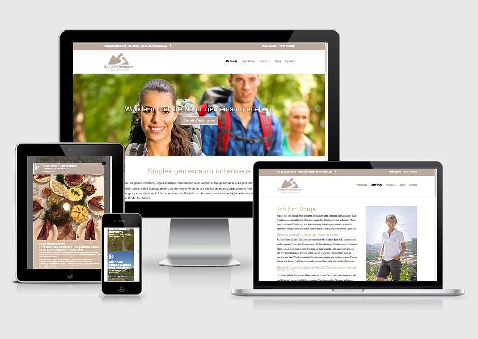 WolfsPress Projekt Onlineshop singles-gemeinsam.de